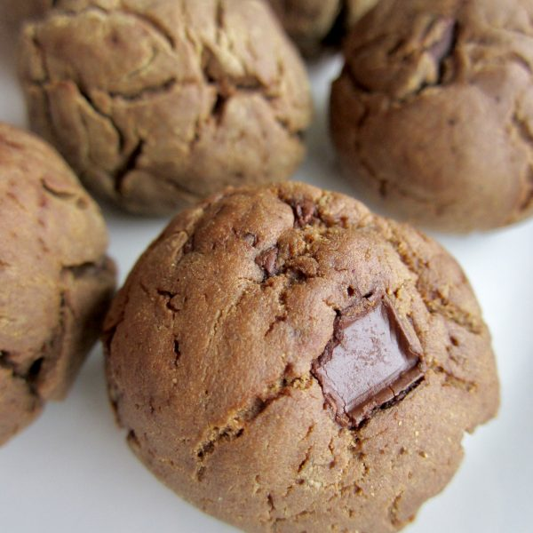 Chocolate Protein Pillow Cookies