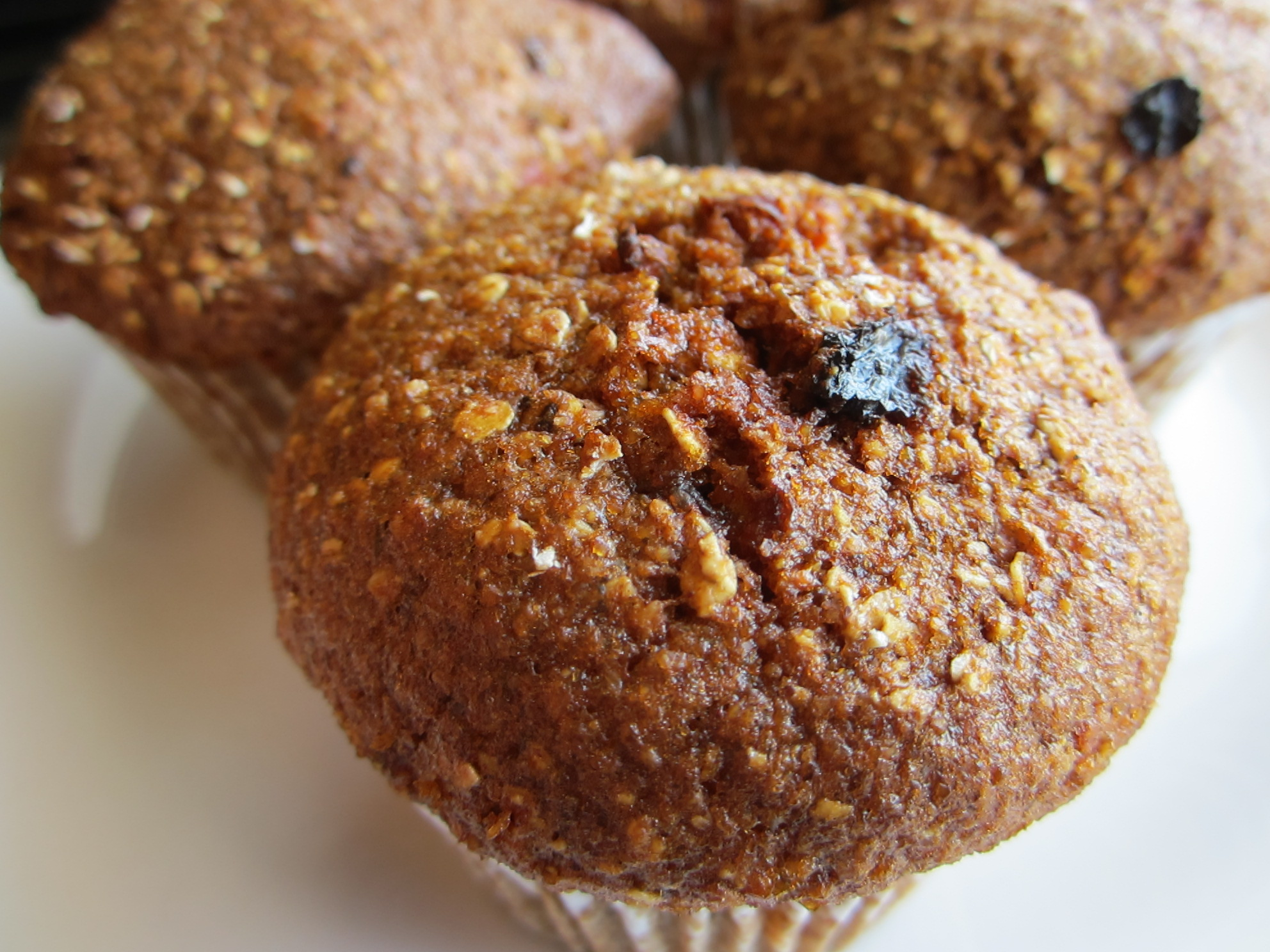 Carrot Apple Raisin Muffins - Gluten-free, dairy-free 2