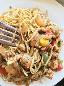vegan gluten-free edamame pasta