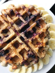fluffy gluten free waffles 2