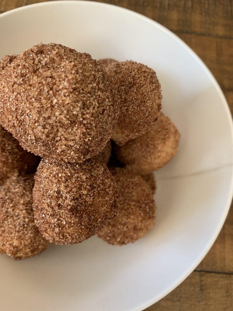 donut holes cinnamon gluten free dairy free