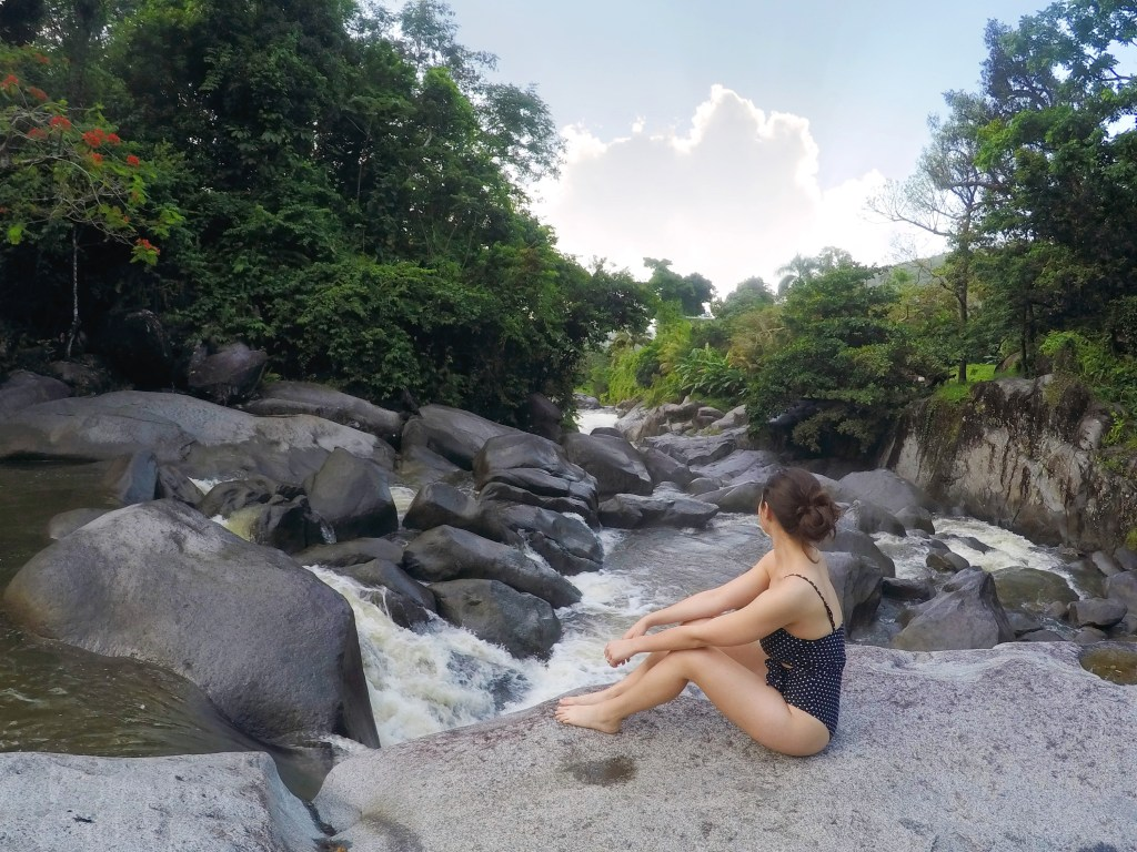 El Hippie waterfall in Puerto Rico